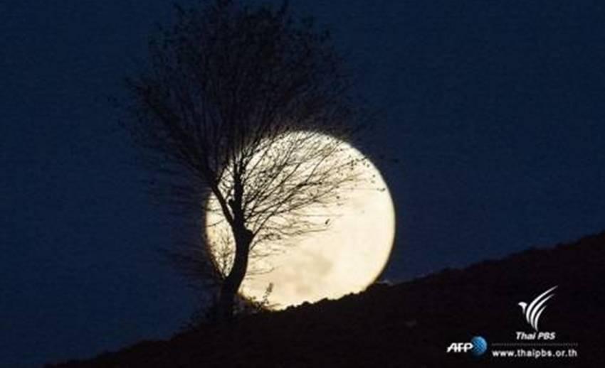 สดร.ชวนส่องจันทร์ดวงโตใกล้โลก 2 ม.ค.61