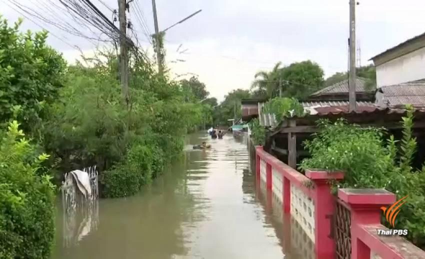 วิกฤตน้ำท่วมเทศบาลนครนครศรีธรรมราช บางจุดสูง 1 เมตร