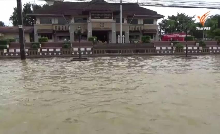 น้ำท่วมภาคใต้ขยายวงกว้าง