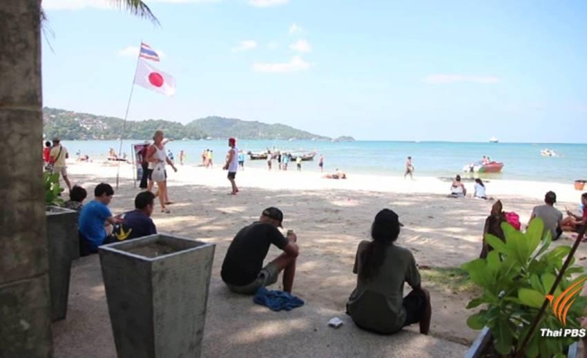วันแรกห้ามสูบบุหรี่บนหาด ไม่พบนักท่องเที่ยวฝ่าฝืน
