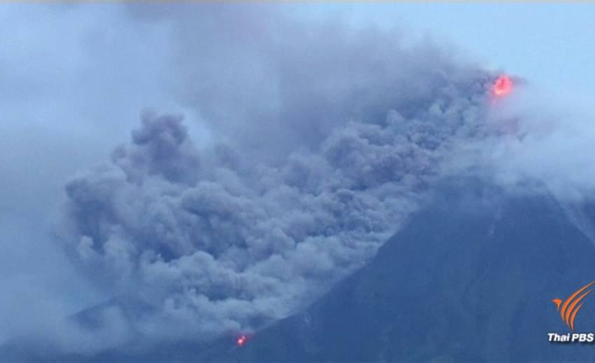 ฟิลิปปินส์เร่งอพยพ 30,000 คนพ้นพื้นที่ภูเขาไฟปะทุ