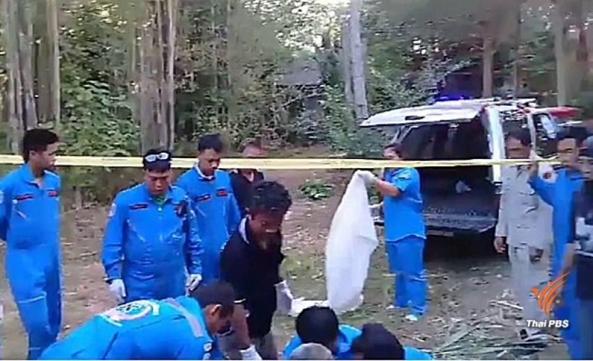 ช้างป่าเหยียบคนตาย 1 คน ในชุมชนเขาชะเมา