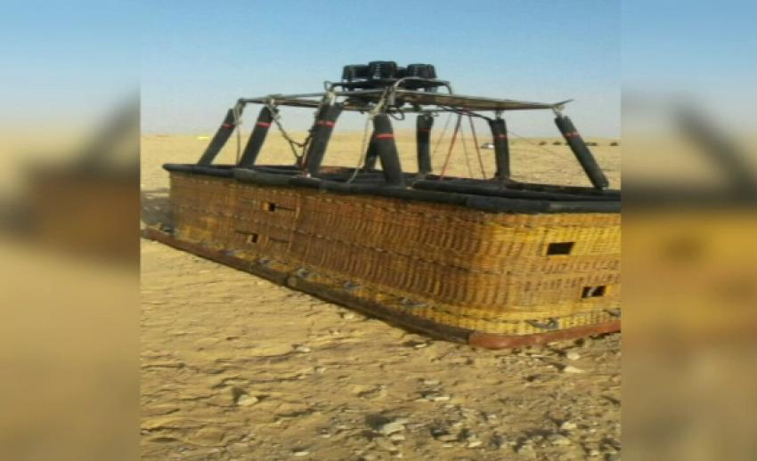 """""""บอลลูนตก"""" นำเที่ยวในอียิปต์ เสียชีวิต 1 คน"""