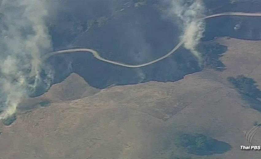 ไฟป่าแคลิฟอร์เนียลุกลามต่อเนื่อง ผลาญพื้นที่แล้ว 2.9 แสนไร่