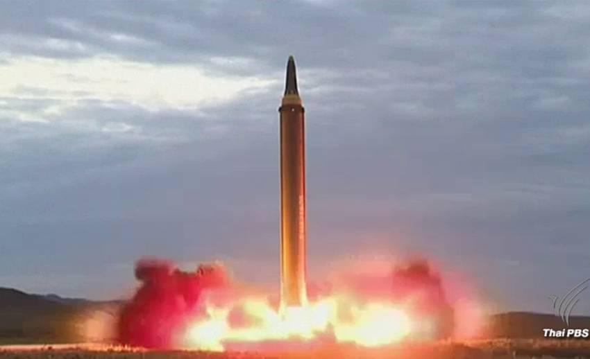 เกาหลีเหนือยิงขีปนาวุธข้ามแผ่นดินญี่ปุ่นเป็นครั้งที่ 2