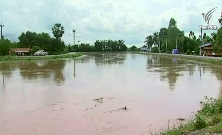จ.สุพรรณบุรี ประกาศให้พื้นที่ภัยพิบัติน้ำท่วม  3 อำเภอ