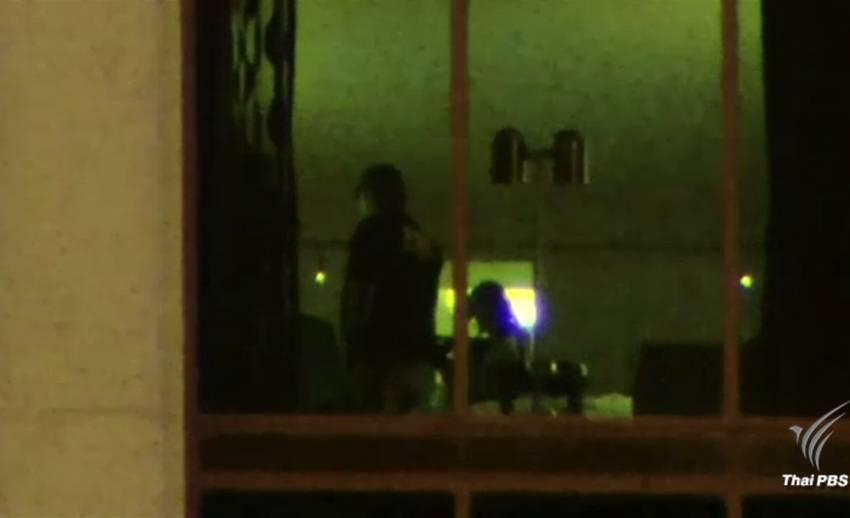 ผู้ก่อเหตุกราดยิงลาสเวกัสติดตั้งกล้องในโรงแรม
