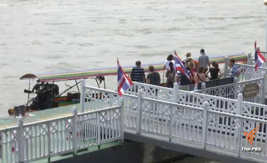 """ปิด 3 ท่าเรือ """"งดลอยกระทง"""" สะพานพุทธ-วัดม่วงแค-วัดเทพนารี"""