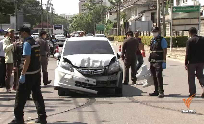 ประเมินอาการ รปภ.ถูกแพทย์ขับรถชน วันนี้
