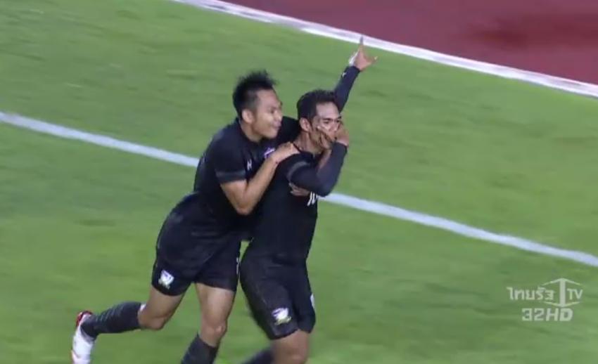 ทีมชาติไทย ยู23 เสมอ มองโกเลีย 1-1 ศึกชิงแชมป์เอเชีย รอบคัดเลือก