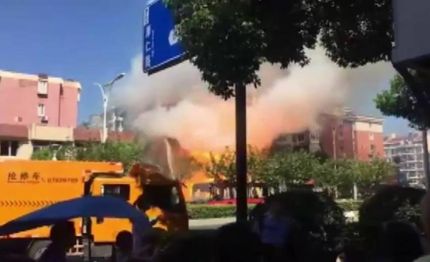 เกิดเหตุระเบิดที่มลฑลเจ้อเจียงของจีน เสียชีวิต 2 เจ็บ 55 คน