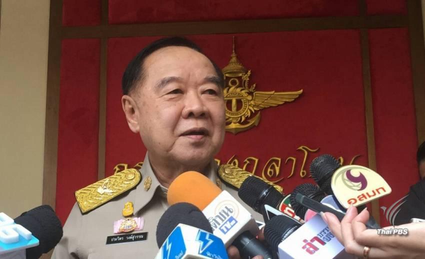 """""""พล.อ.ประวิตร"""" ปฏิเสธข่าวลือถูกปรับทัพนั่ง """"มหาดไทย"""""""