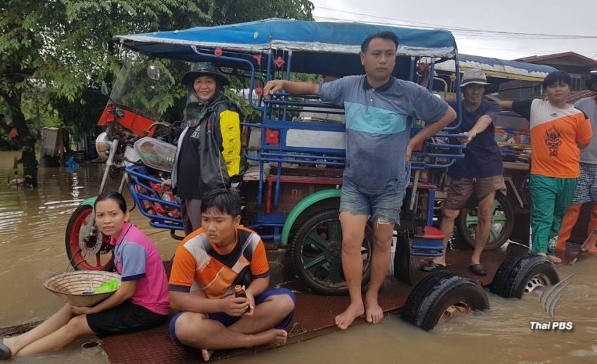 สำรวจชีวิตการปรับตัวของชาวบ้านสกลนคร จมน้ำ 3 วัน
