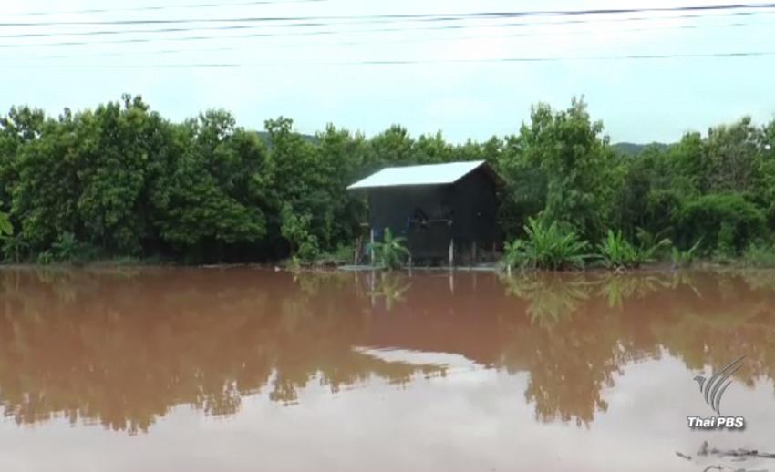 """หลายพื้นที่ทางตอนบนของประเทศไทยประสบภาวะน้ำท่วมจากพายุ """"เซินกา"""""""