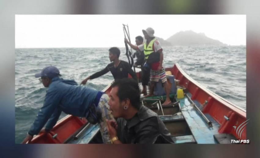 พบศพ 5 ผู้สูญหาย ติดอยู่ใต้ซากเรือล่มชุมพร