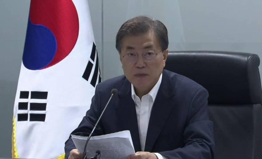 """เกาหลีใต้-ญี่ปุ่น-สหรัฐฯ ประณาม """"โสมแดง"""" ทดสอบขีปนาวุธข้ามทวีป"""