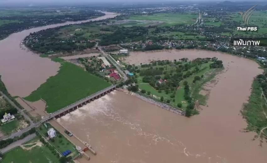 เร่งทำฝนหลวงเติมน้ำในเขื่อนหลัก หลังยังต่ำกว่าเกณฑ์