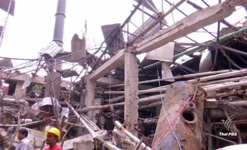 หม้อไอน้ำระเบิดในโรงงานทอผ้าบังกลาเทศ ตาย 10 เจ็บ 50 คน