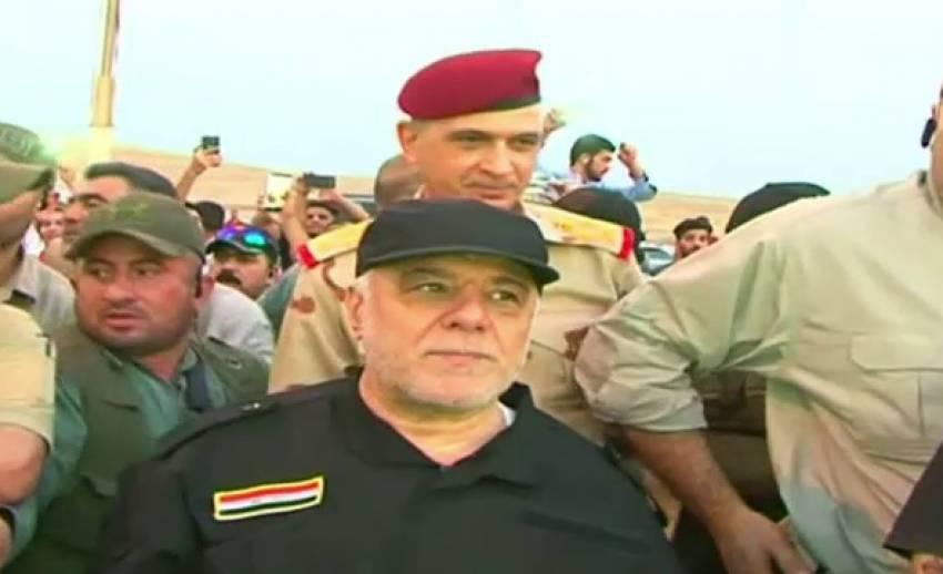 """นายกฯ อิรัก ประกาศชัยชนะ อ้างยึดคืน """"โมซูล"""" จากไอเอส"""