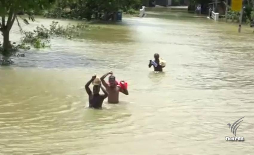 ยอดผู้เสียชีวิตน้ำท่วมศรีลังกาพุ่งเกิน 200 คน