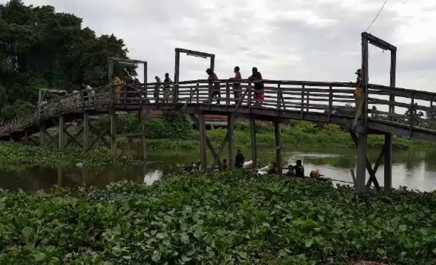 พบศพเยาวชนหญิงถ่วงน้ำในคลองสำโรง คาดเสียชีวิตอย่างน้อย 1 สัปดาห์