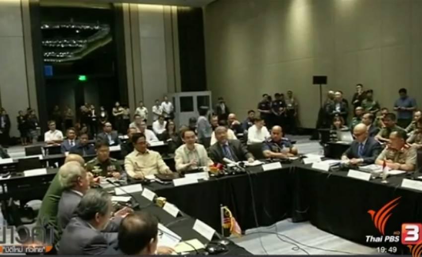 ฟิลิปปินส์-อินโดนีเซีย-มาเลเซีย จับมือสู้ก่อการร้าย