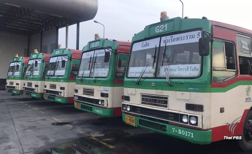 ประเดิมวันแรก 8 สายรถเมล์โฉมใหม่ -คนสับสนไม่กล้าใช้บริการ