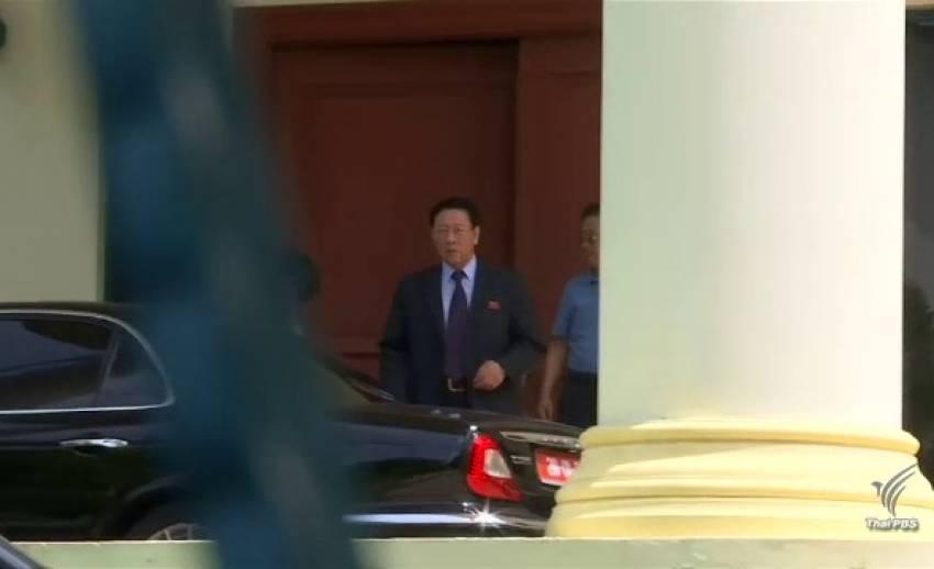 """คณะผู้แทนเกาหลีเหนือ เจรจาขอร่าง """"คิม จอง-นัม"""" กลับประเทศ – ผู้ต้องสงสัยหญิงอาจต้องโทษประหารชีวิต"""