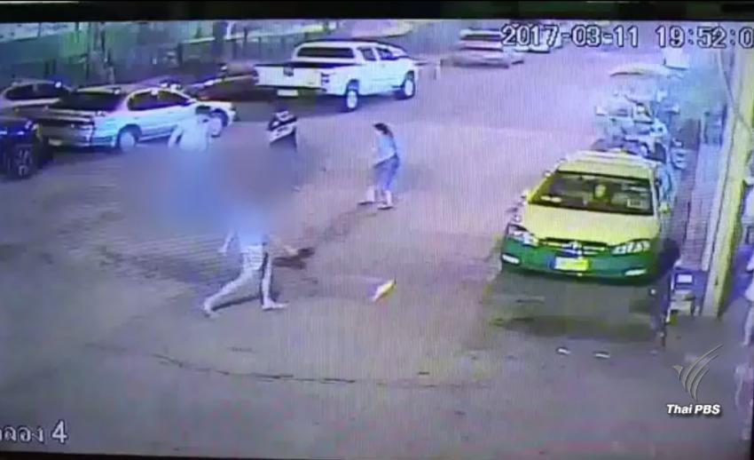ตร.นนทบุรีจับวัยรุ่นรุมทำร้าย รปภ. หลังไม่พอใจถูกเตือนเรื่องรถ