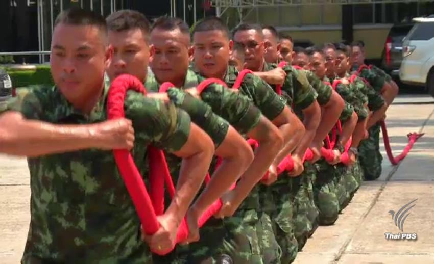 กรมสรรพาวุธทหารบก เริ่มฝึก 20 ครูฝึกพลฉุดชักราชรถ