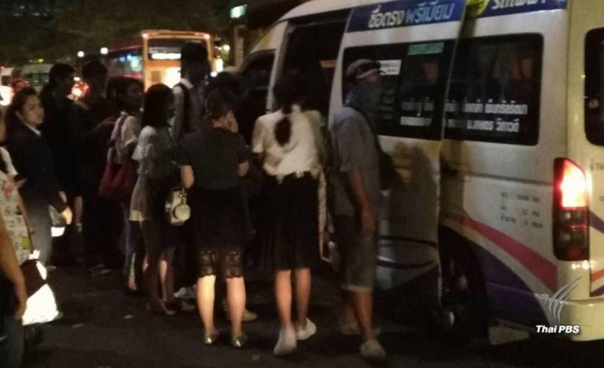 รถตู้ยอมรับเงื่อนไขลดเหลือ 13 ที่นั่ง-จ่อขึ้นค่าโดยสารเพิ่ม