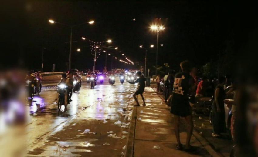 จำคุก 15 วัน ปรับ 5 พัน แก๊งวัยรุ่นชลบุรี เล่นสงกรานต์พิเรนทร์