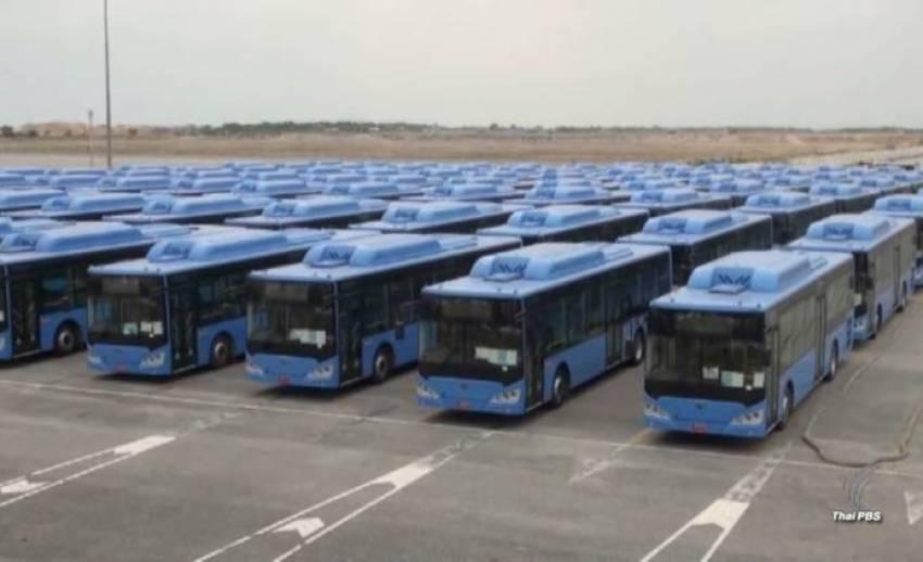 """ขสมก.ยกเลิกสัญญา """"เบสท์ริน"""" ซื้อรถเมล์เอ็นจีวี 489 คัน"""