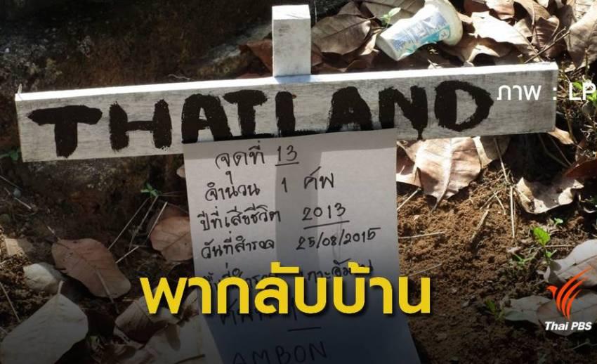 ระดมทุนนำกระดูกลูกเรือไทยกลับบ้าน