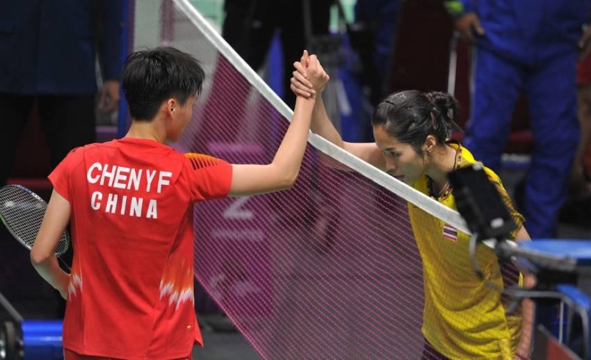แบดมินตันทีมสาวไทย พ่าย จีน 3-0 คู่ คว้าเหรียญทองแดง