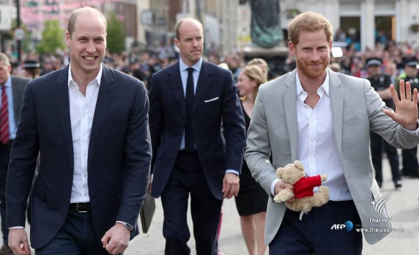 เจ้าชายแฮร์รี่พบปะพสกนิกรก่อนพิธีเสกสมรส