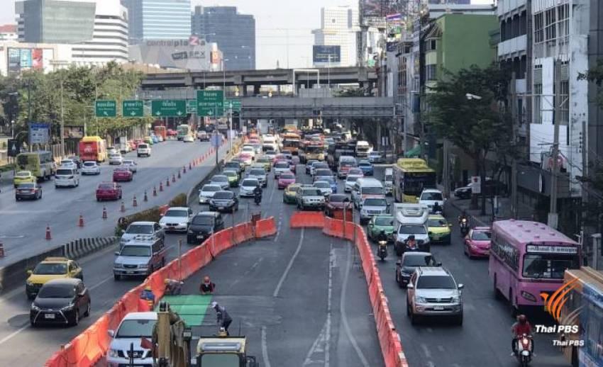 กรุงเทพฯ เช้านี้ ฝุ่น PM 2.5 ริมถนนเกินมาตรฐาน 2 จุด