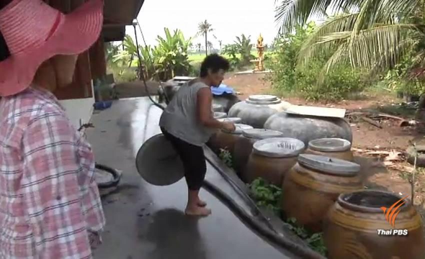 ชาวชุมชนคลองลำมะเขือขื่น เขตคลองสามวา ไม่มีน้ำประปาใช้กว่า 60 ปี