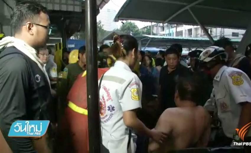 ไฟไหม้อพาร์ตเมนต์ซอยเพชรบุรี 18 เบื้องต้นเสียชีวิต 3 คน