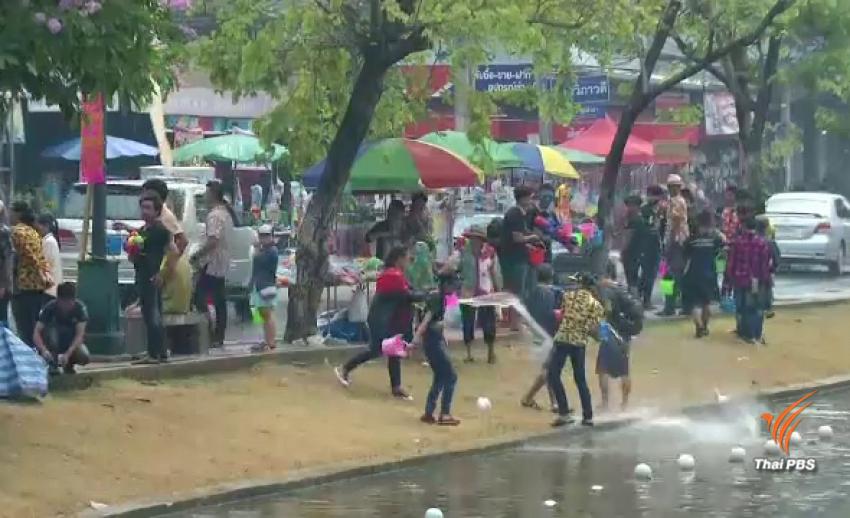 สงกรานต์ทั่วไทยวันสุดท้าย เดินหน้าทำบุญ-เล่นน้ำ