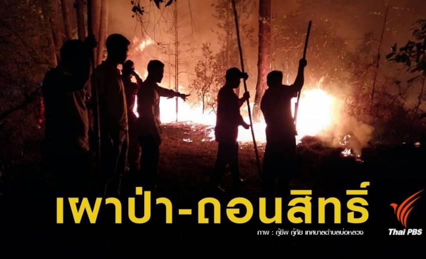 ฝุ่น PM2.5 : ส่ง จนท.100 ชุด จับคนเผาป่า พบผิดตัดสิทธิ์ใช้พื้นที่
