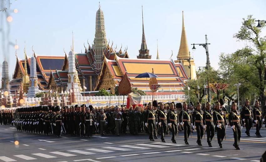 รัฐบาลชวน ปชช.สวมเสื้อเหลืองเฝ้าฯ ถวายพระพรชัยมงคล