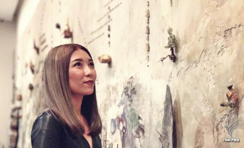 """ดาวเด่นเทศกาลศิลปะ Singapore Biennale  """"ปานพรรณ ยอดมณี"""" คว้ารางวัลใหญ่ จากผลงาน Aftermath"""