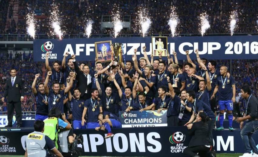 ทีมชาติไทยรั้งอันดับ 2 อาเซียน แม้คว้าแชมป์ซูซูกิคัพ