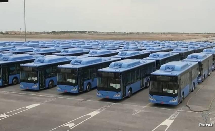 ก.คมนาคมชี้ส่งมอบรถเมล์เอ็นจีวีช้ากระทบแผนเดินรถ