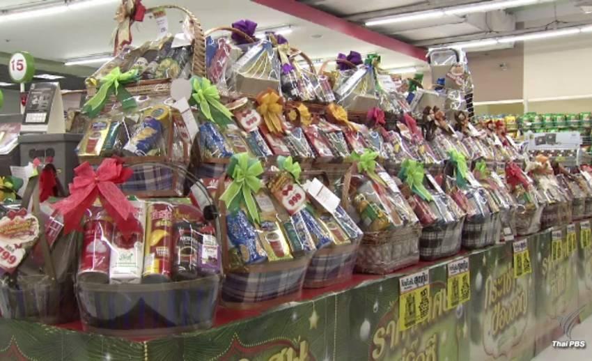 สำรวจกระเช้าของขวัญปีใหม่ราคาทรงตัว-บรรจุข้าวสารเพิ่มช่วยชาวนา