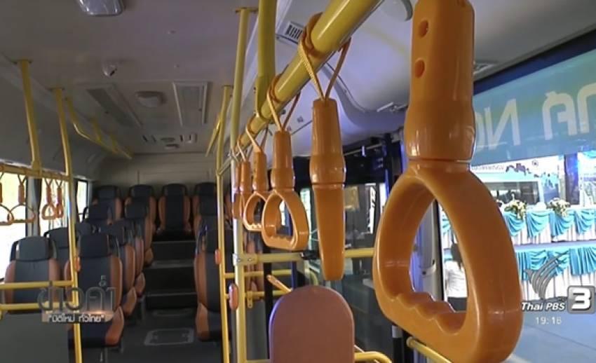 รถเมล์ เอ็นจีวี ล็อตแรกถึงไทยแล้ว