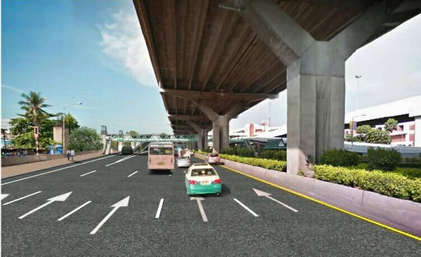 ทางหลวงเตรียมรื้อสะพานเข้าอาคารสนามบินดอนเมือง -จัดเวทีรับฟังความเห็น 8 ก.ค.นี้