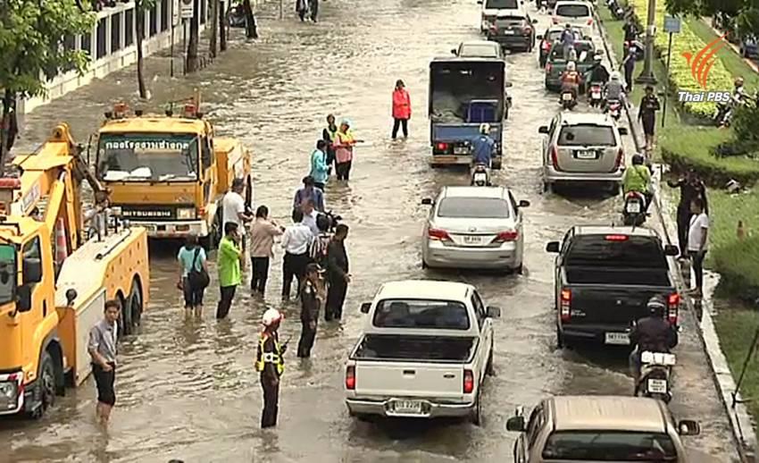 นักวิชาการชี้กรุงเทพฯเสี่ยงน้ำท่วมหนัก แนะเพิ่มศักยภาพระบายน้ำ