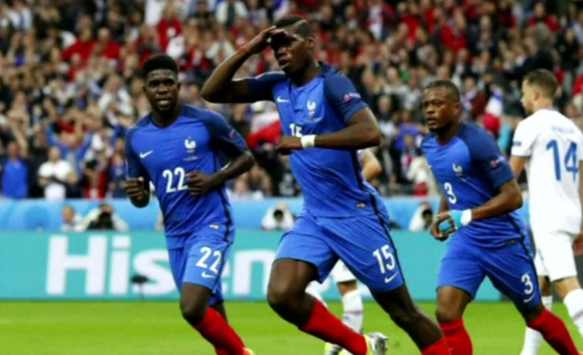 ฝรั่งเศส ถล่ม ไอซ์แลนด์ 5-2 ลิ่วรอบรองฯ พบเยอรมนี